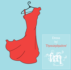 Women's Summer Dress Vector Template Free