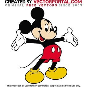 MICKEY MOUSE VEKTÖR GRAPHICS.eps