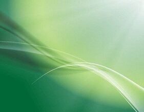 Soft Green Abstract Background