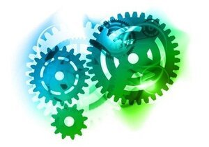 Abstract Color Gears