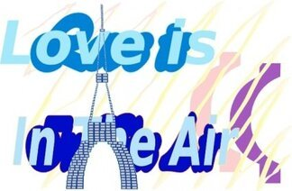 E Card Love Is In The Air La Tour Eiffel Tower Aug