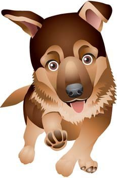 Dog vector collections 5