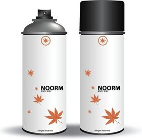 Vecteur libre Noor Body Spray