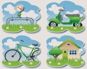 Stock Illustrations Ecology Green Themes