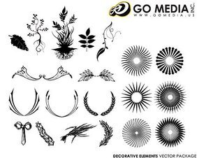 Go Media Vector Chupin material - European-style lace patter
