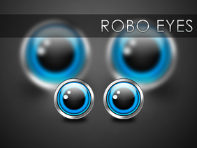 Mr. Robo Eye (solid vector)