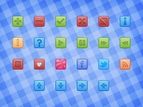 32px Square Icons