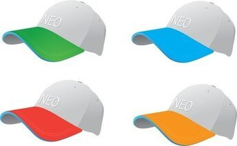 Colourful Baseball Caps