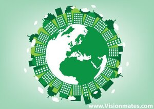 Green Eco Planet Earth