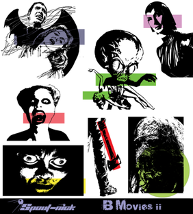 B Movies Vector Set-2