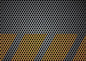 Vector Metal Grid