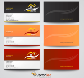 Real Estate Business Card Designs