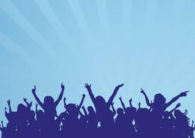 Dancing Crowd Graphics