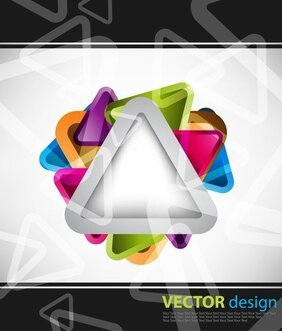 Symphony Triangular Background