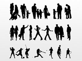 Collection People Vector