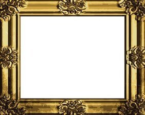 Antique Gold Frame 04