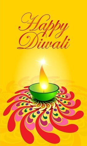 Exquisite Diwali Card 05