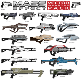 Mass Effect Vector Weapons Pack