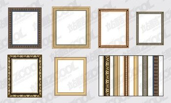 A variety of frame lace