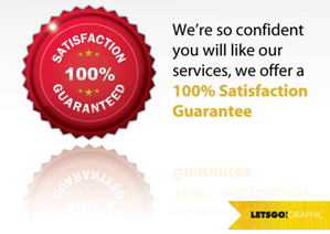 100 % Satisfaction garantie Seal Vector gratuit