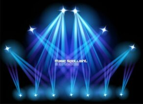 Stage Lighting Effects 01