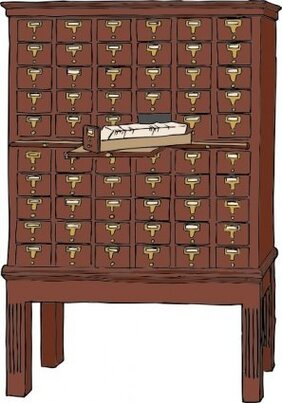 Card Catalog Furniture