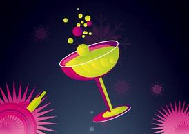 Champagne Illustration