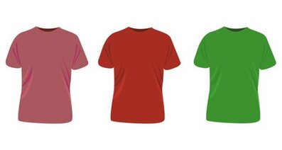 T-shirt 4 Color Templates