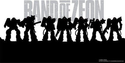 Band Of Zeon Zaku Vectors