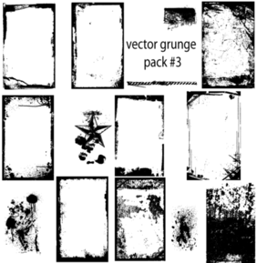 Free Grunge Vector Graphics Illustrator Pack Free Download