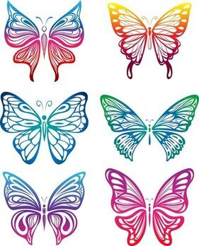Butterfly Paper Cutting