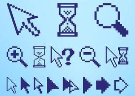Pixelated Icons Set