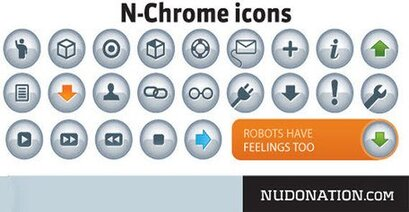 N-Chrome Vector Icons