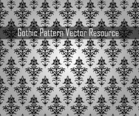 Gothic Pattern Free Vector Resource