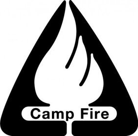 Logotipo de Camp Fire