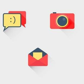 FLAT ICONS VECTOR SET.eps