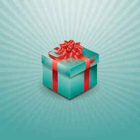 Gift Box Vector Graphic Backgrounds