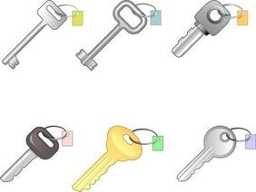 6 Different Keys