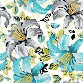 Beautiful flowers and patterns 05