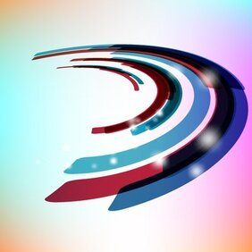 Curvy Dynamic Stripy Background
