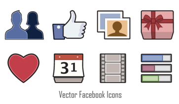 Vektor-Facebook-Icons