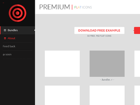 Market Templates with SideBar #Freebies