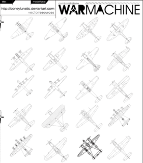 Free War Machine Vector Pack 01