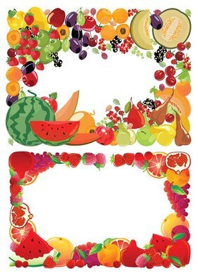 2 fruit border