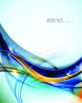 Colorful Abstract Line