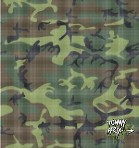 Raster #3 (Camouflage) - Design Tommy Brix
