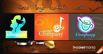 Free Logo Coffee Music