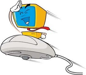 Flying mouse with pc