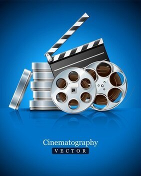 Film Props en apparatuur Highdefinition foto