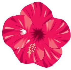 Button Flower Vector 5